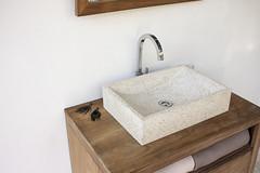 The Torino Red Terrazzo Washbasin