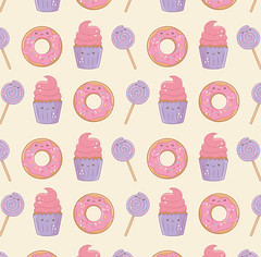 19 (wcsofdwp93) Tags: food tasty cute happiness lovely lollipop donut pattern background backdrop wallpaper sweet bakery comic pastry yummy snack menu adorable vector illustration anime childhood emotion emoticon biscuit design funny greeting little celebration sugar creamy holiday meal stick cupcake cartoon kawaii dessert party candy character