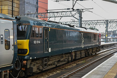92014, Glasgow Central  (6) (JH Stokes) Tags: class92 electriclocomotives caledoniansleeper gbrf globalbritishrailfreight glasgowcentral locomotives ferroequinology trains trainspotting tracks transport railways photography 92014