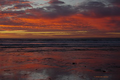 3K005710a_C (Kernowfile) Tags: cornwall cornish pentax poldhucove thelizardpeninsula sunset water reflections sky cloud horizon waves sunsetlight sand beach pentaxforums