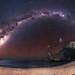 Milky Way at Windy Harbour, Western Australia