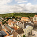 View from the Town Hall tower in Retz