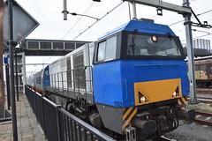 RRF Vossloh G 2000 BB 1103 (Miriam.treinspotter) Tags: goederentrein trein treinen train cargotrain freighttrain spoorwegen spoor shuttle rrf vossloh