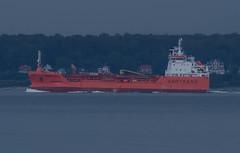 Chemical tanker Trans Fjell (frankmh) Tags: ship tanker chemicaltanker oilproductstanker transfjell öresund denmark