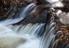 Venford Brook, Dartmoor 11 (chris-parker) Tags: venford brook dartmoor river stream autumn fall water waterfall slow shutter speed