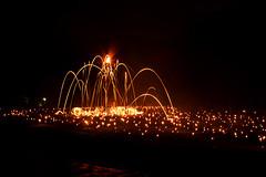 fire Event (walkkyoto) Tags: 松明 fireevent 夜景 nigthview 伝統行事 tradition 松上げ 花背 hanase 京都 kyoto 日本 japan ultron28mmf2
