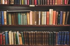 antique-books-on-shelves (1) (University of Bath) Tags: books