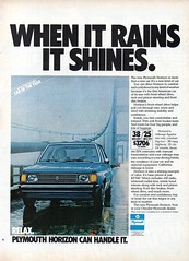 1978 Plymouth Horizon Hatchback Chrysler Corporation USA Original Magazine Advertisement (Darren Marlow) Tags: 1 7 8 9 19 78 1978 p plymouth h horizon hatchback c chrysler corporation car cool collectible collectors classic a automobile v vehicle f french france e european europe 70s