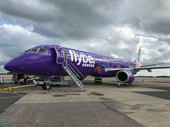 Flybe (Welcome to Yorkshire Livery) Embraer ERJ-195LR G-FBEJ (josh83680) Tags: manchesterairport manchester airport man egcc gfbej embraer embraererj195lr erj195lr embraererj195 erj195 welcome yorkshire livery welcometoyorkshire welcometoyorkshirelivery flybe fly be