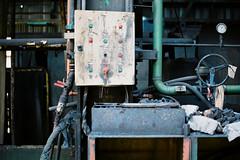 HFB Ougrée (Skylark-Photography) Tags: fourneau haut sambre cockerill mill steelworks metal metaal steel staal decay dilapidated abandoned verloren verlaten vervallen verval industrieel industry industrial exploring urban urbex belgique belgium belgie industrie industrielle industria lost lomo film 35mm analoge analogue