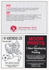 Sheffield United vs West Ham United - 1991 - Page 17 (The Sky Strikers) Tags: sheffield united west ham barclays league division one bramall lane the blade official programme pound twenty
