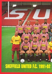 Sheffield United vs West Ham United - 1991 - Page 18 (The Sky Strikers) Tags: sheffield united west ham barclays league division one bramall lane the blade official programme pound twenty