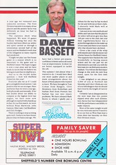 Sheffield United vs West Ham United - 1991 - Page 3 (The Sky Strikers) Tags: sheffield united west ham barclays league division one bramall lane the blade official programme pound twenty