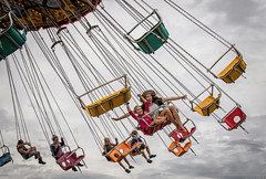 Just ah swingin'..... (Kevin Povenz Thanks for all the views and comments) Tags: 2019 august kevinpovenz westmichigan michigan ottawa ottawacounty hudsonvillefair swing girl boy male female canon7dmarkii sigma evening chair ride fair carnival people