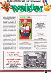 Sheffield United vs West Ham United - 1991 - Page 23 (The Sky Strikers) Tags: sheffield united west ham barclays league division one bramall lane the blade official programme pound twenty