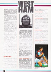 Sheffield United vs West Ham United - 1991 - Page 6 (The Sky Strikers) Tags: sheffield united west ham barclays league division one bramall lane the blade official programme pound twenty