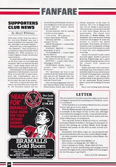 Sheffield United vs West Ham United - 1991 - Page 24 (The Sky Strikers) Tags: sheffield united west ham barclays league division one bramall lane the blade official programme pound twenty