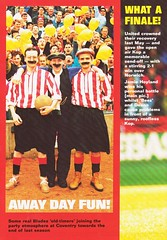 Sheffield United vs West Ham United - 1991 - Page 26 (The Sky Strikers) Tags: sheffield united west ham barclays league division one bramall lane the blade official programme pound twenty