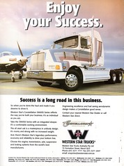 1999 Western Star Contellation 5900SS Series Truck Aussie Original Magazine Advertisement (Darren Marlow) Tags: 1 5 9 19 99 1999 w western star c contellation 5900ss r rig t truck s semi cool collectible collectors classic a automobile v vehicle u us usa united states american america 90s