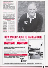 Sheffield United vs West Ham United - 1991 - Page 29 (The Sky Strikers) Tags: sheffield united west ham barclays league division one bramall lane the blade official programme pound twenty