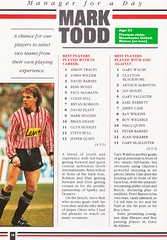 Sheffield United vs West Ham United - 1991 - Page 14 (The Sky Strikers) Tags: sheffield united west ham barclays league division one bramall lane the blade official programme pound twenty