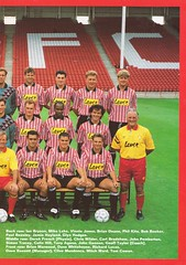 Sheffield United vs West Ham United - 1991 - Page 19 (The Sky Strikers) Tags: sheffield united west ham barclays league division one bramall lane the blade official programme pound twenty