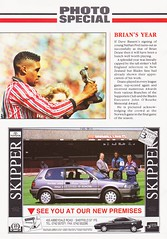 Sheffield United vs West Ham United - 1991 - Page 22 (The Sky Strikers) Tags: sheffield united west ham barclays league division one bramall lane the blade official programme pound twenty