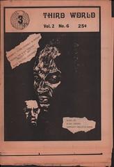 Third World Vol. 2 No. 6 – 1971 (Washington Area Spark) Tags: third world newspaper tabloid periodical african american black pan liberation washington dc district columbia 1970