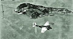 Martin B-12 light bombers flying over San Francisco Bay 1-28-1936 NARA18-AA-24-023 (over 18 MILLION views Thanks) Tags: aircraft airplane airplanes usarmy inflight california armyaircorps bomber