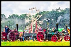 Steam Engines and Ferris Wheel (kckelleher11) Tags: 2019 40150mm engines ireland olympus rally august em1 f28 ferris laois mzuiko omd steam stradbally wheel