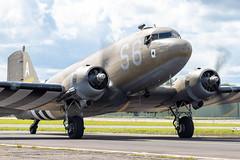 2100884/N147DC Douglas C-47A Dakota (amisbk196) Tags: unitedkingdom aircraft bigginhill aviation amis flickr uk airshow 2019 festivalofflight kent 2100884 n147dc douglas c47a dakota