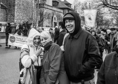 DSC_7387_epgs (Eric.Parker) Tags: april 19 easter 2019 goodfriday procession littleitaly stfrancis assisi church stfrancisofassisi college street jesus christ stationsofthecross christian christianity brassband toronto palm bw