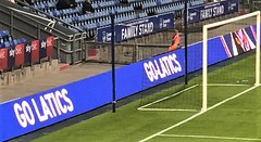 Boundary Park pitch-side advertisement board - Go Latics (Diego Sideburns) Tags: oldhamathletic boundarypark latics pitchsideadvertisementboard golatics