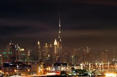 Dubai Skyline At Night (Ken Meegan) Tags: dubaislyline dubaiskylineatnight burjkhalifa dubai 2132018