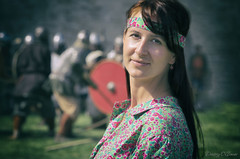 Portrait of Anastasia at the medieval festival in Staraya Ladoga (Dmitriy'Os'Ivanov) Tags: pentaxk5 pentax60250mmf4 portrait people woman medieval festival starayaladoga russia girl folk ethnic summer люди девушка народный средневековый фестиваль портрет стараяладога лето стилизация stylization historical исторический beautiful
