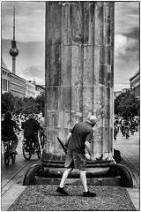 Still a way through? (studiotheia) Tags: berlin germany streetphotography brandenburggate