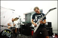 HROBAR at Headbanger_FM (Martin Mayer - Photographer) Tags: slovenskýrozhlas headbangerfm rudi rus metal punk thrash hudba music hrobar