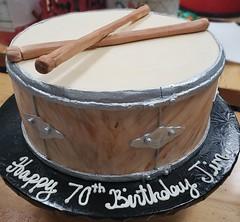 20190725_151056 (backhomebakerytx) Tags: backhomebakery back home bakery cake 70 70th birthday drum band
