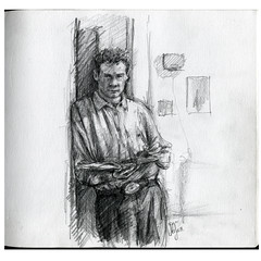 Self-portrait pencil sketch (jasoux) Tags: art artwork illustration sketch pencil drawing selfportrait
