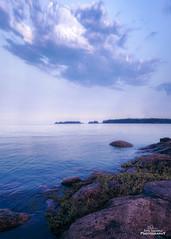 Espoo Blues (Joni Salama) Tags: espoo haukilahti kesä luonto meri panorama suomi vesi summer nature sea finland water landscape seascape rocks
