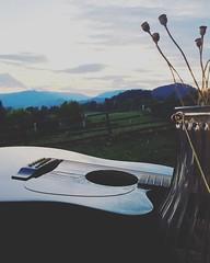 65059918_159329621777727_1979689079231032140_n (totenmann) Tags: sunset guitar friday weekend wine art artist artistsoninstagram totenmann mood shotoniphone iphonography summer summernights summernight lonely