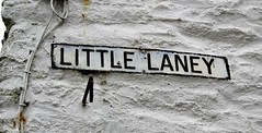 Little Laney (Peter Denton) Tags: polperro cornwall england westcountry fishingvillage streetsign roadsign littlelaney kernow europe europa ©peterdenton canoneos100d
