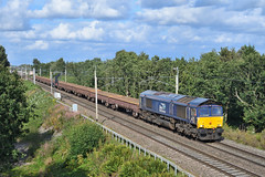 66427-Moore-15.8.19 (shaunnie0) Tags: 66427 class66 directrailservices drs 6k05 moore wcml generalmotors gm dred