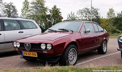 Alfa Romeo Alfetta 2000 GTV 1979 (Wouter Bregman) Tags: fk87rn alfa romeo alfetta 2000 gtv 1979 alfaromeoalfetta alfaromeogtv coupé coupe red rood rouge a2 liempde noordbrabant brabant nederland holland netherlands paysbas vintage old classic italian car auto automobile voiture ancienne italienne italie italia italy vehicle outdoor