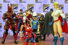 SDCC Powergirl (Darth Primus 333) Tags: sdcc powergirl deadpool marvellegends dccollectibles spiderham robotchicken justiceleague batman wonderwoman superman darthprimus blackcat robin shazam
