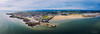 "Aerial view of Porthcawl beach harbour and fun fair in South Wales UK • <a style=""font-size:0.8em;"" href=""http://www.flickr.com/photos/23125051@N04/48592896766/"" target=""_blank"">View on Flickr</a>"