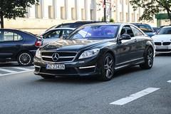 Poland (Warsaw-Zachodni) - Mercedes-Benz CL 63 AMG C216 2011 (PrincepsLS) Tags: poland polish license plate wz warsaw spotting mercedesbenz cl 63 amg c216 2011