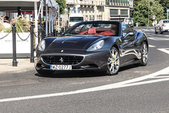 Poland (Warsaw-Zachodni) - Ferrari California (PrincepsLS) Tags: poland polish license plate wz warsaw spotting ferrari california