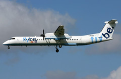 g-ecov dh8d egkk (Terry Wade Aviation Photography) Tags: dh8d egkk bee