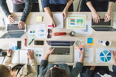 business-team-meeting-boardroom (1) (University of Bath) Tags: team meeting online